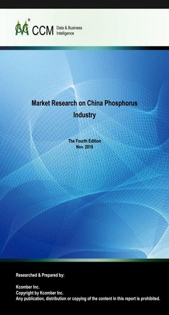 Market Research on China Phosphorus Industry